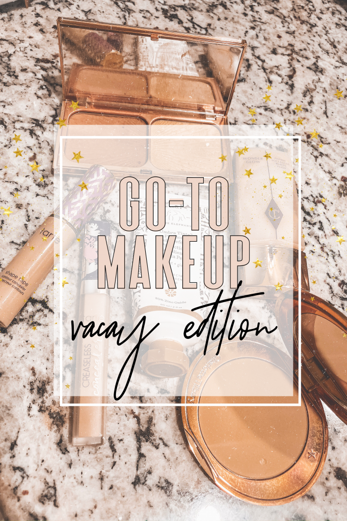 Go-to Makeup, Vacay edition