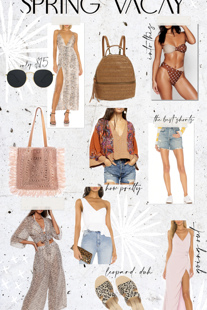 WHAT TO WEAR ON SPRING VACAY