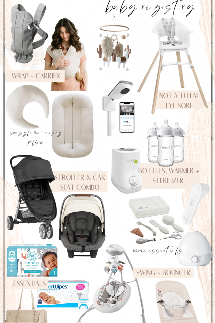 WHAT WAS ON MY BABY REGISTRY