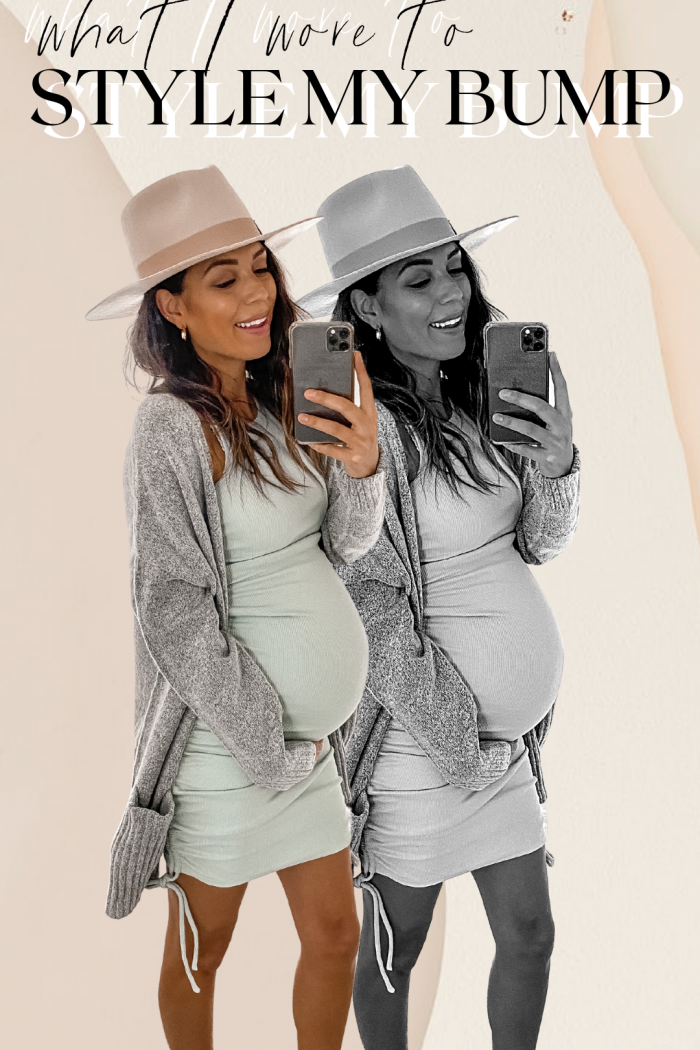 WHAT I WORE TO: STYLE MY BUMP